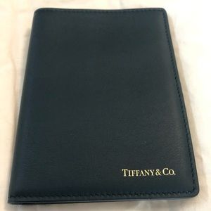 Tiffany & Co Dark Navy Passport Cover